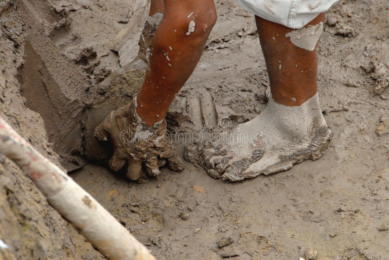 горнорабочая Перу стоковое изображение rf