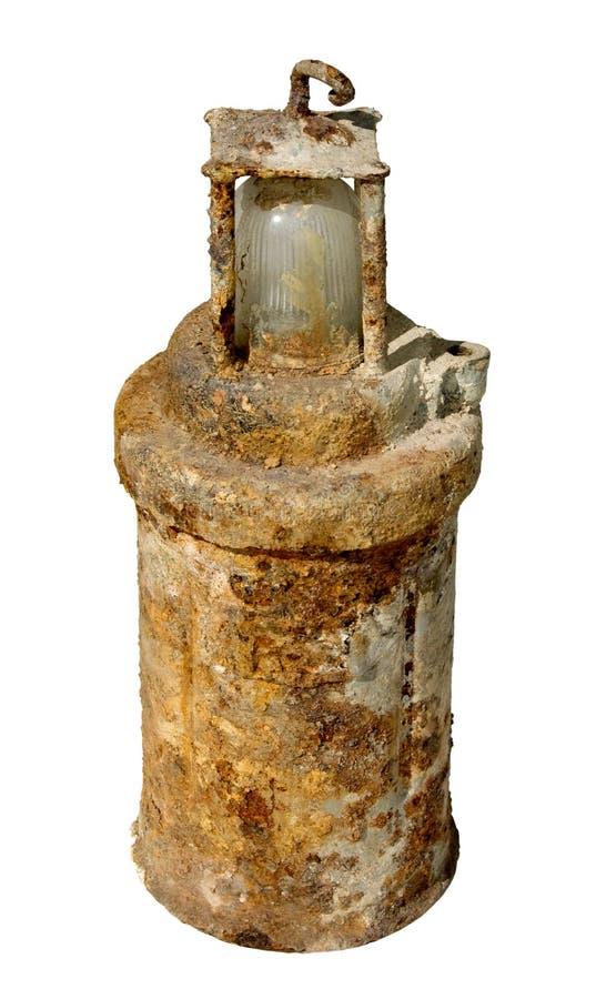 горнорабочая старый s светильника стоковое фото