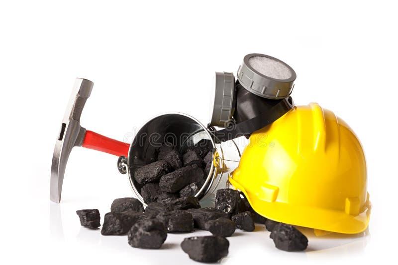 Горнодобывающая промышленность, инструменты ` s горнорабочей стоковое фото rf