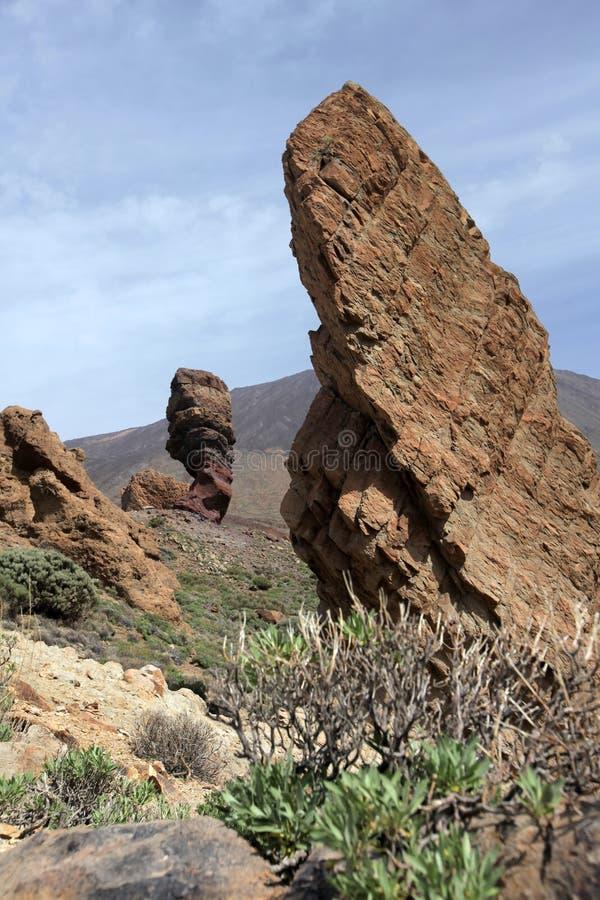 Горные породы на Pico del Teide стоковые изображения rf