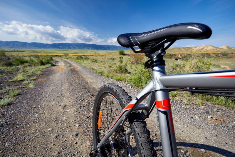 Горный велосипед внешний стоковые изображения rf