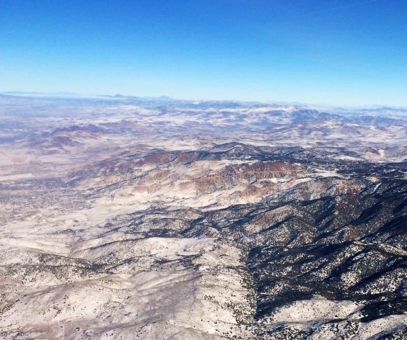 Горный вид на западе - США стоковая фотография rf