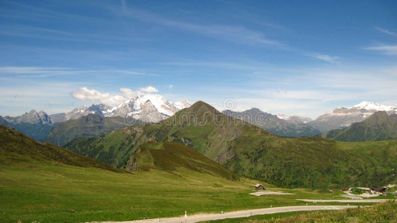 Горный вид - пейзаж, ландшафт стоковая фотография
