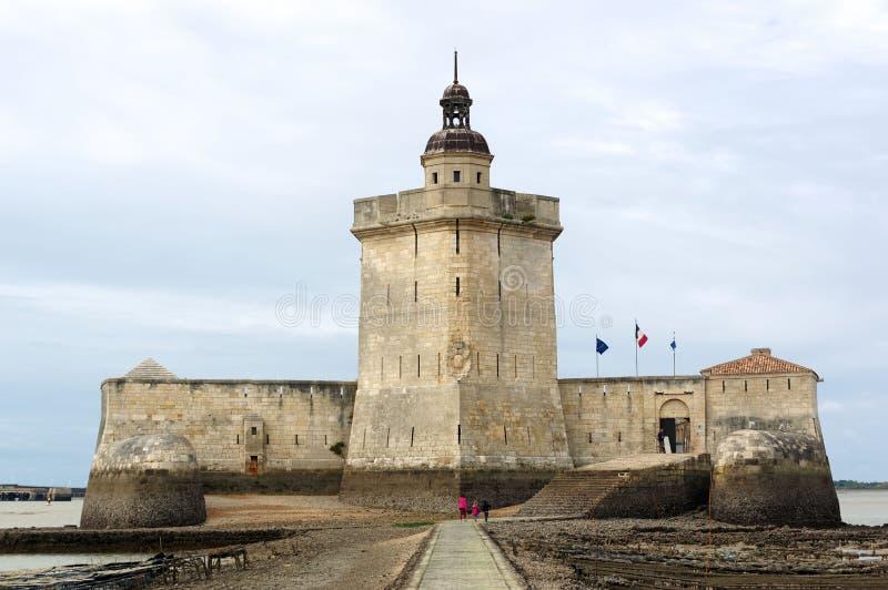Городище Louvois форта в Шаранта морском стоковое изображение