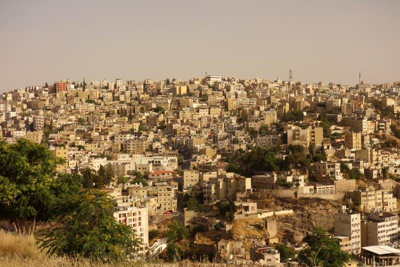 Городок Аммана старый стоковые фотографии rf