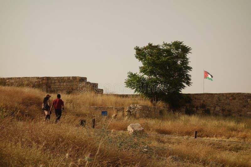 Городок Аммана старый стоковое изображение rf
