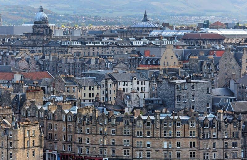 городок Великобритания edinburgh старый Шотландии стоковое изображение