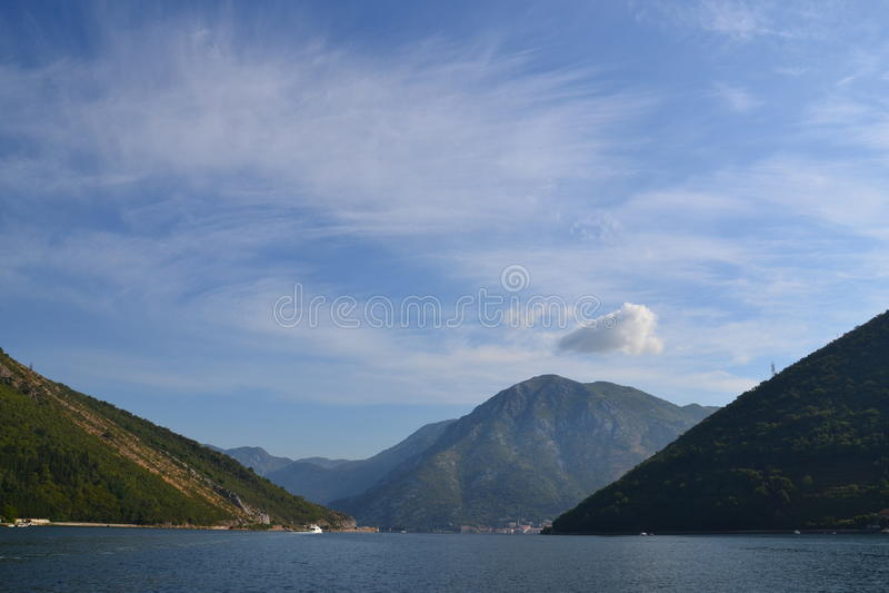 Городок горы стоковое фото