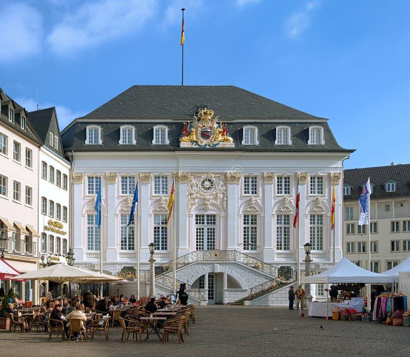 городок залы bonn Германии старый стоковые фото
