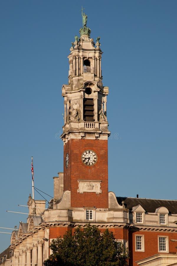 городок залы colchester стоковое изображение rf