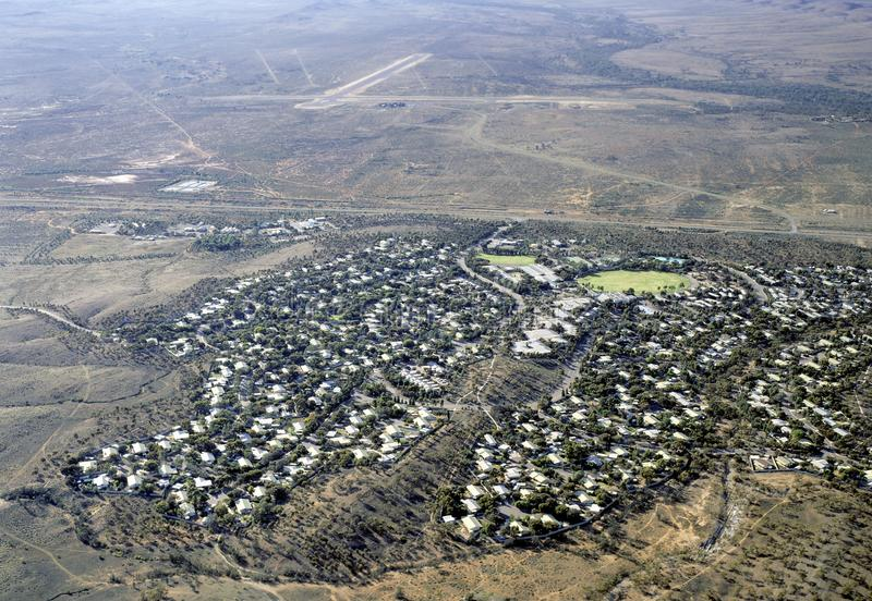 Городок минирования Кри Leigh стоковое фото rf