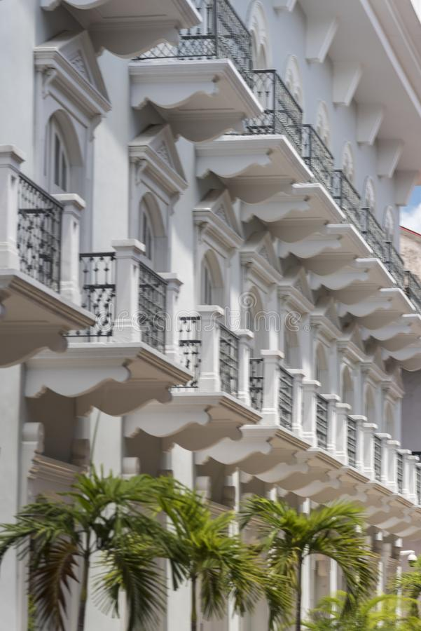 Городок Панама (город) центрального ¡ Panamà гостиницы старый стоковые изображения rf