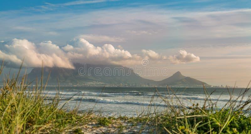 городок плащи-накидк Африки южный стоковое изображение rf