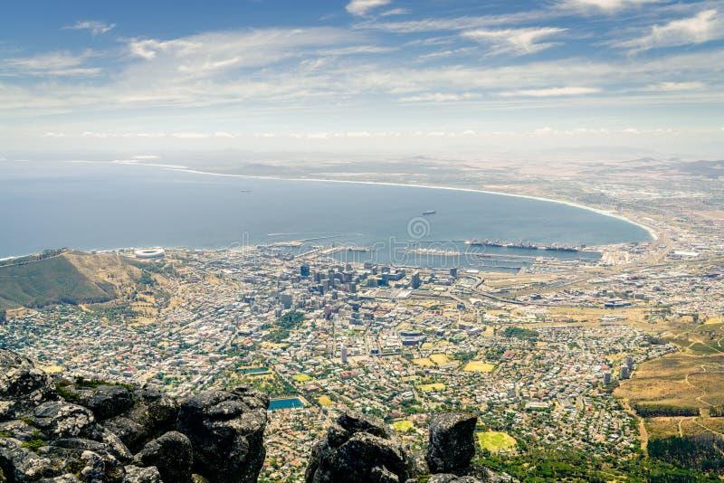 городок плащи-накидк Африки южный стоковые изображения
