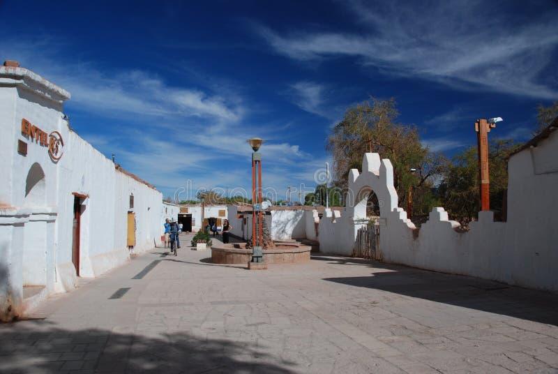 городок пустыни стоковые изображения