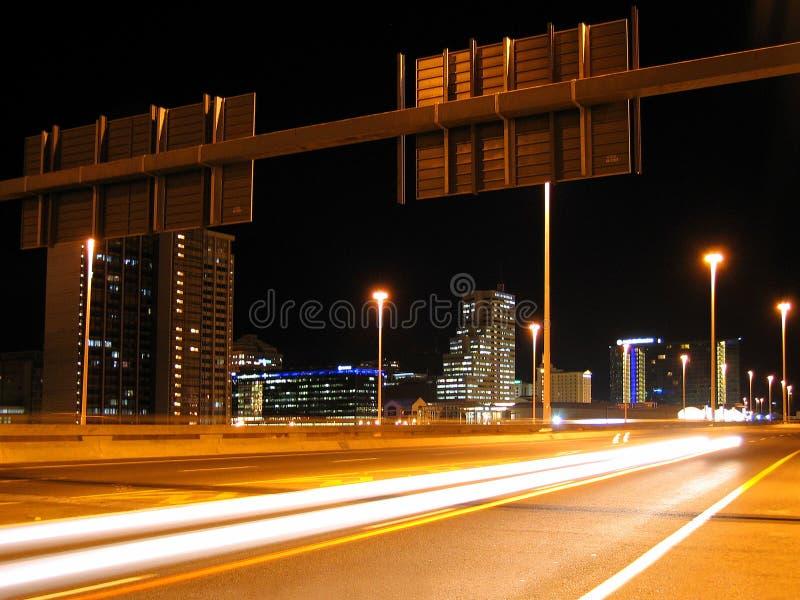 городок хайвея плащи-накидк стоковое изображение rf