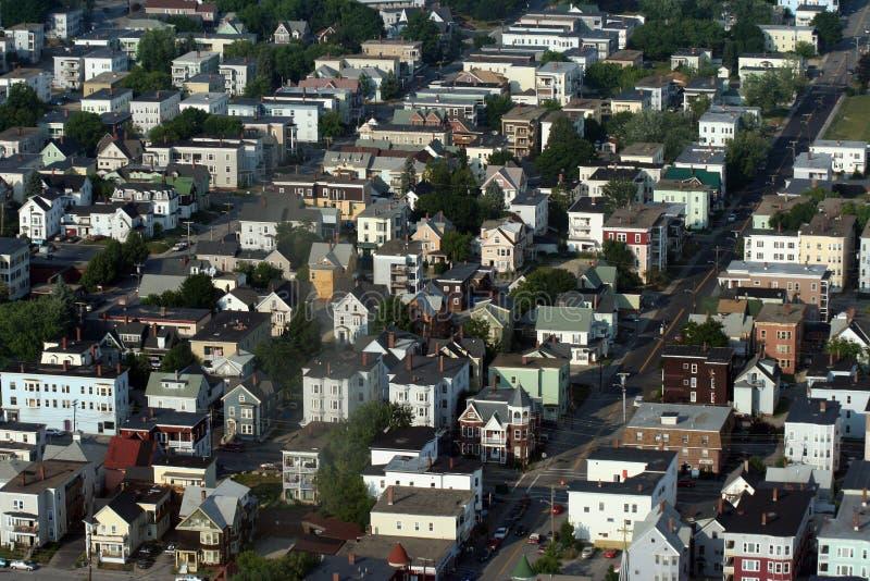городок стоковая фотография