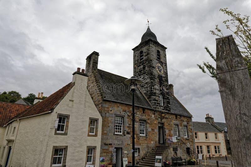 Городок Culross, Шотландия стоковые фотографии rf