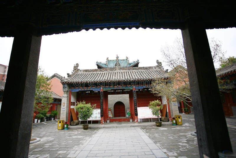 Городок God& x27; висок s, Zhengzhou стоковые изображения rf