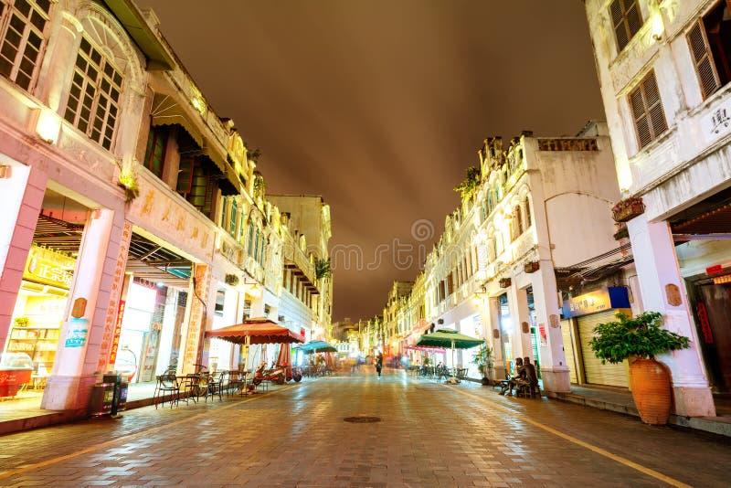Городок Haikou старый стоковое фото
