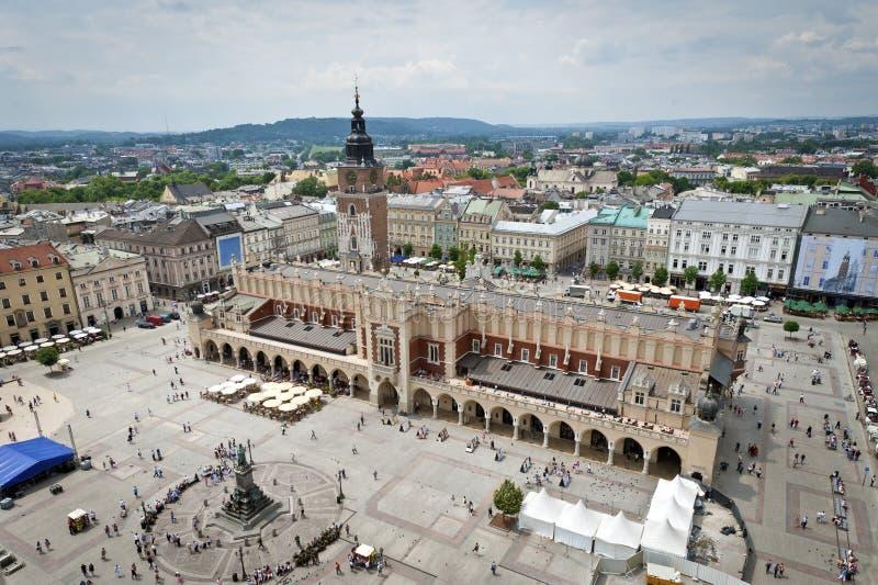 городок krakow старый Польши стоковая фотография rf