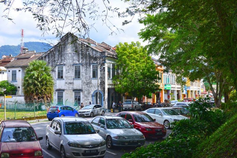 Городок Kuala Kubu Bharu стоковое изображение rf