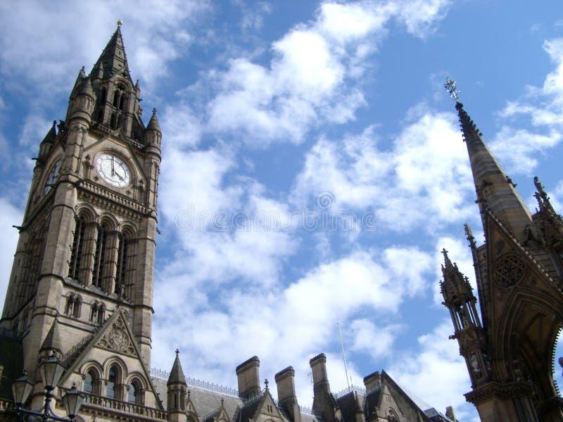 городок manchester залы стоковое фото
