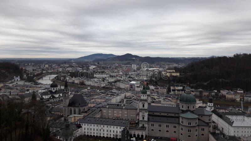 Городок Salzuburg старый стоковое изображение