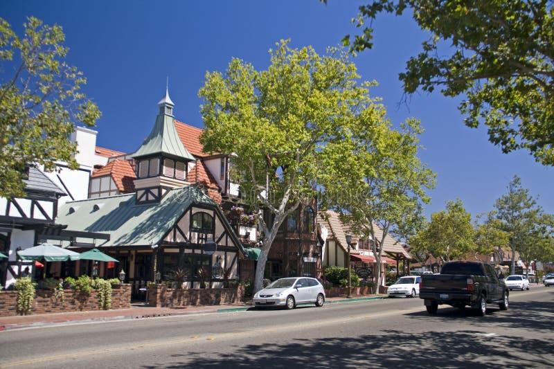городок solvang california датский стоковая фотография rf