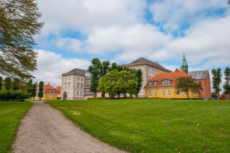 Городок Soro в Дании стоковые фото