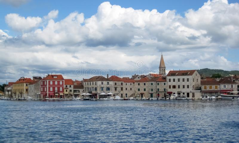 Городок Starigrad стоковое изображение