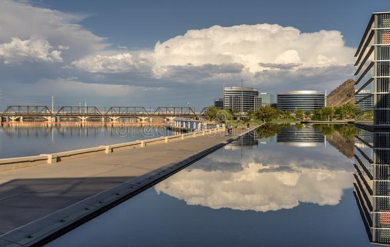Городок Tempe в AZ стоковая фотография