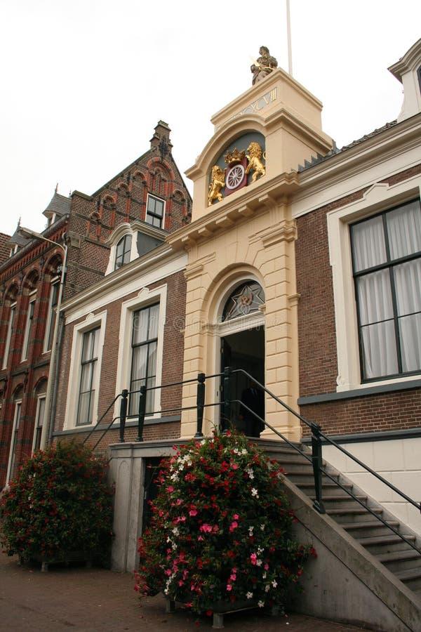 городок wageningen залы стоковое фото rf