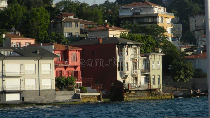 Городская жизнь Istambul чудесна и красочна Вы должны посетить этот город стоковое фото