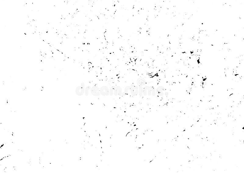 Городская пакостная поцарапанная предпосылка конспекта шума черно-белая иллюстрация вектора