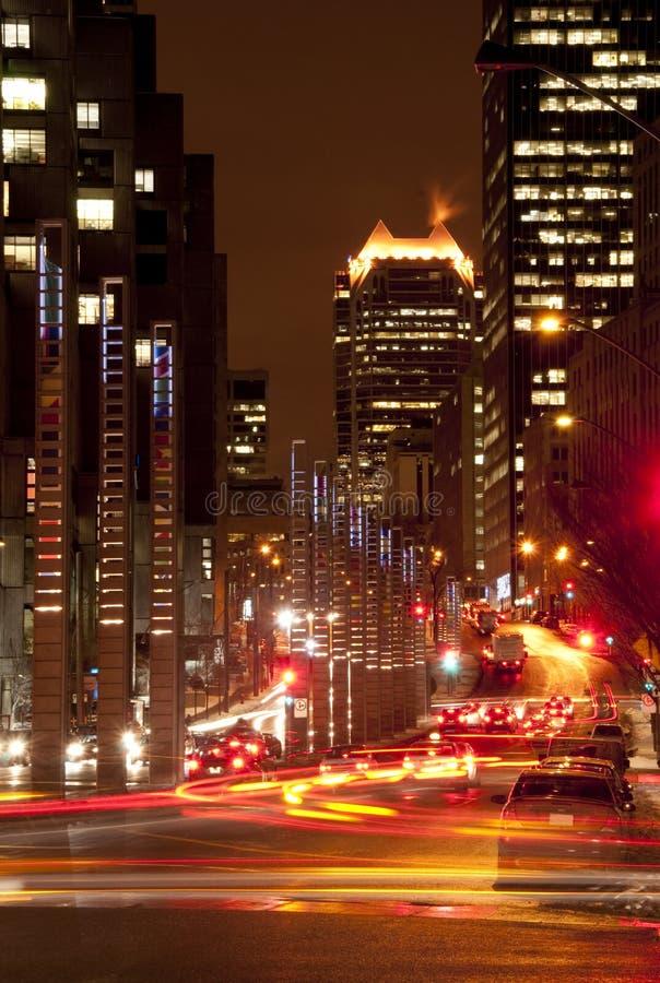 городское движение стоковое изображение