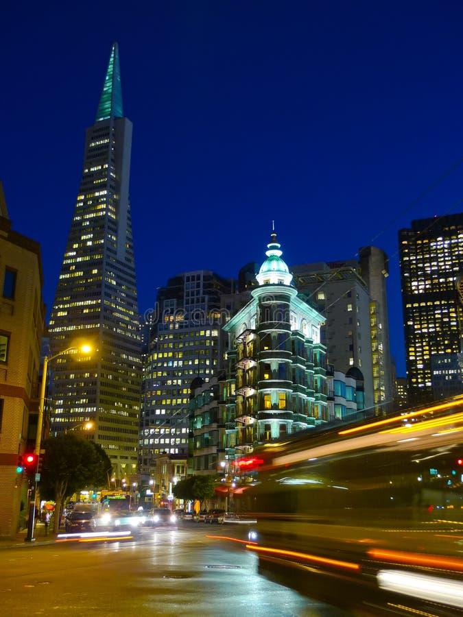 Городское Сан-Франциско стоковое изображение rf