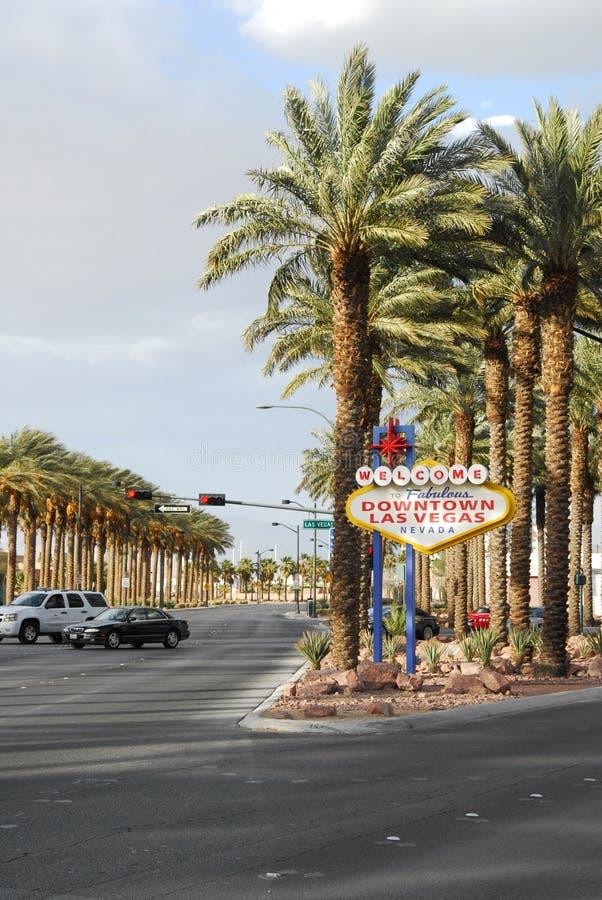 городское Las Vegas стоковое фото