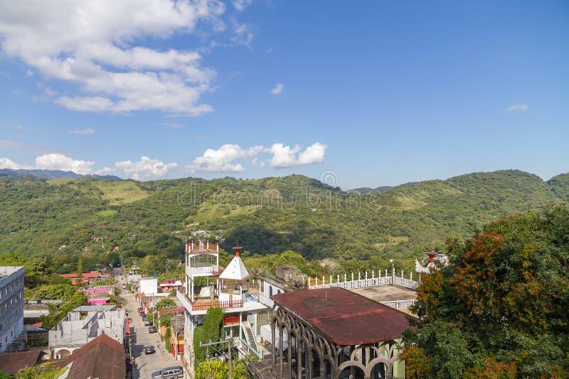 Городское Xilitla, San Luis Potosi - Мексика стоковые фото