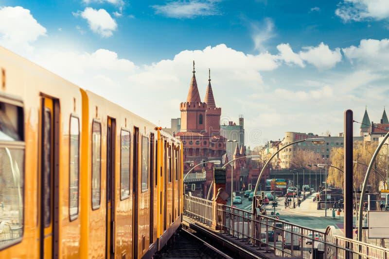 Городской Берлин, Германия стоковые фотографии rf