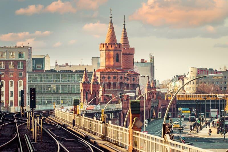 Городской Берлин, Германия стоковое фото rf