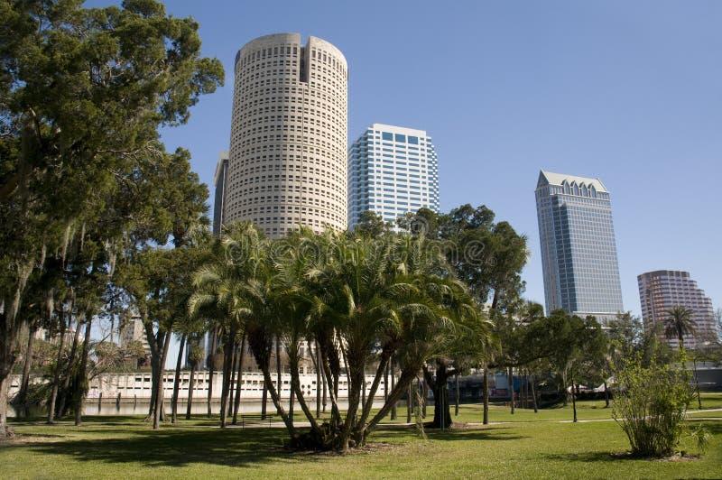 городской парк Тампа florida стоковые изображения rf