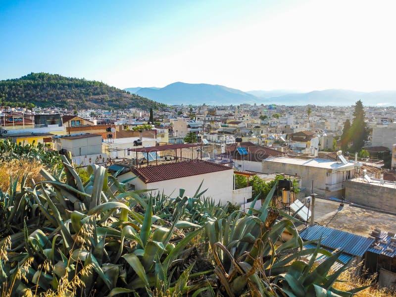 Городской пейзаж Аргоса стоковое фото
