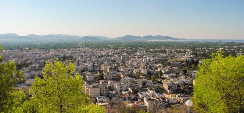 Городской пейзаж Аргоса стоковое изображение