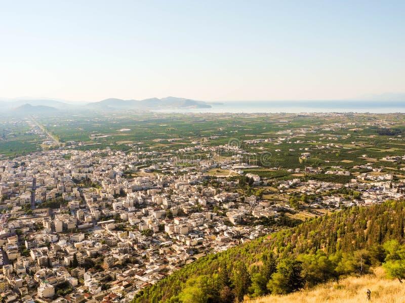 Городской пейзаж Аргоса стоковые изображения rf