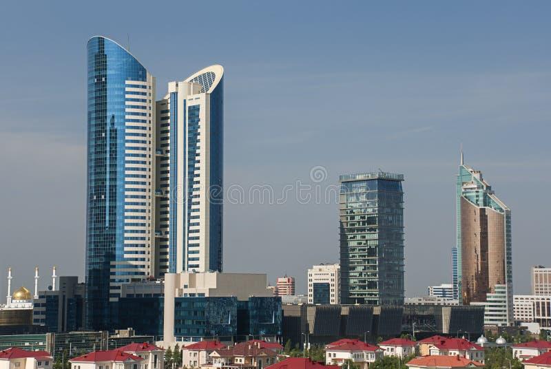 Городской пейзаж Астаны стоковое фото