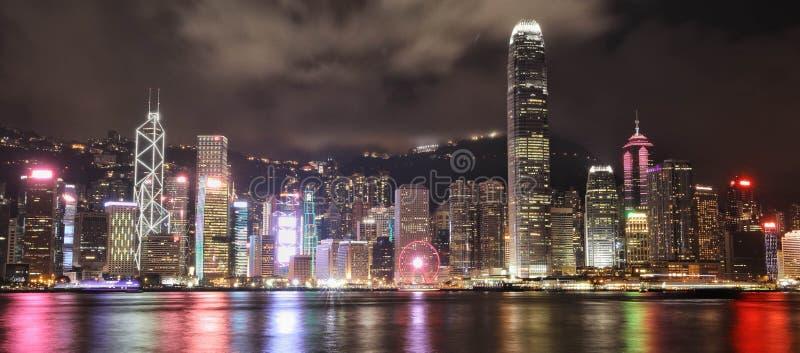 Городской пейзаж в Гонконге стоковое фото rf