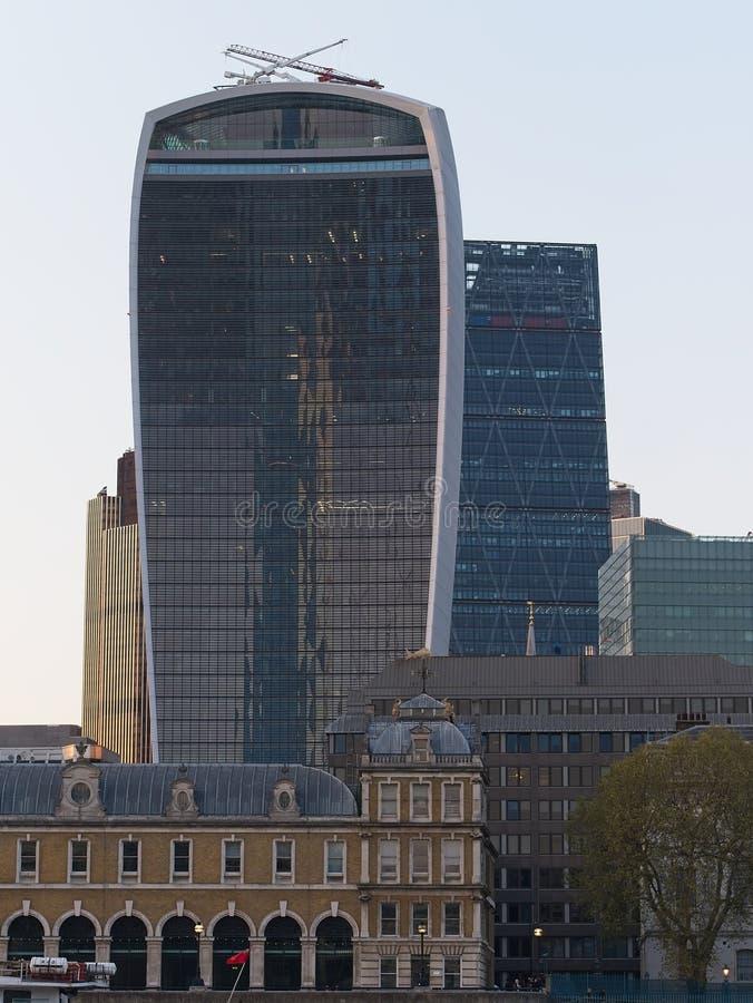 Городской пейзаж Лондона стоковые фотографии rf