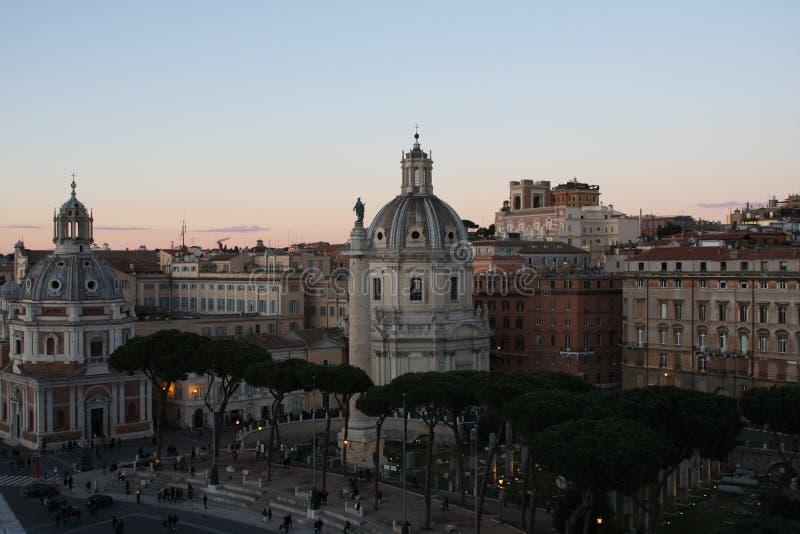 Городской пейзаж Рима Италии стоковая фотография rf