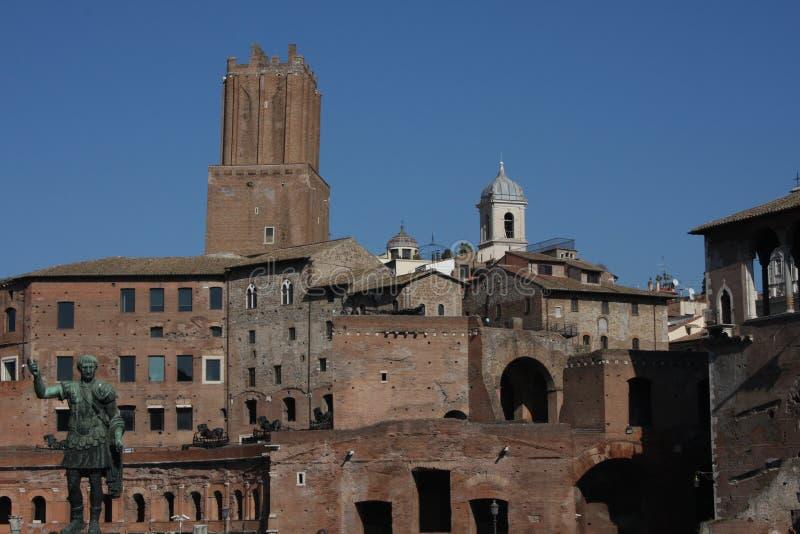 Городской пейзаж Рима Италии стоковое фото